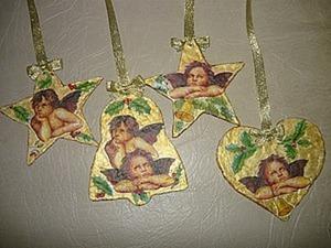 Новогодние украшения «Ретро». Ярмарка Мастеров - ручная работа, handmade.