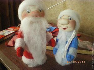 Дед Мороз и Снегурочка — поделка в детский сад. Часть 1: изготовление туловища. Ярмарка Мастеров - ручная работа, handmade.