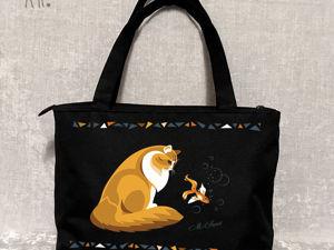 Пошив сумок: от макета к вещи. Ярмарка Мастеров - ручная работа, handmade.