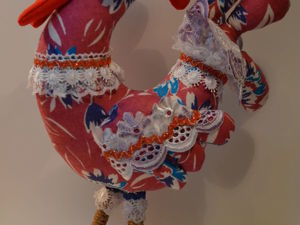 Шьем сами новогоднего петушка. Ярмарка Мастеров - ручная работа, handmade.