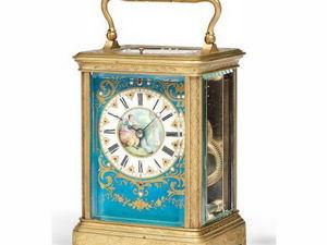 Каретные часы. Ярмарка Мастеров - ручная работа, handmade.