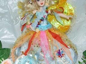 Моя Фея Бабочка — кукла в сказочном костюме. Ярмарка Мастеров - ручная работа, handmade.