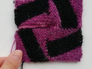 Вяжем квадратный мотив спицами. Ярмарка Мастеров - ручная работа, handmade.