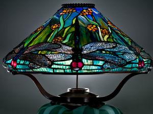 Шикарные светильники от Louis Comfort Tiffany. Ярмарка Мастеров - ручная работа, handmade.