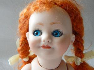 Реплика антикварной куклы German Googly 24 см. Ярмарка Мастеров - ручная работа, handmade.