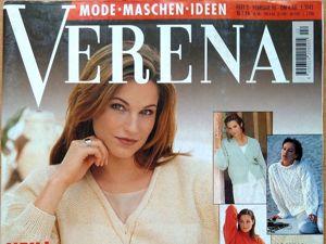 Verena № 2/1996. Фото моделей. Ярмарка Мастеров - ручная работа, handmade.