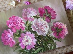 Цветы и пейзажи весны в декабре!. Ярмарка Мастеров - ручная работа, handmade.