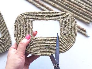 DIY: 2 идеи плетеных корзинок / Поделки из бумаги и джута. Ярмарка Мастеров - ручная работа, handmade.
