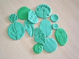 Штампы для полимерной глины / Polymer clay. Ярмарка Мастеров - ручная работа, handmade.