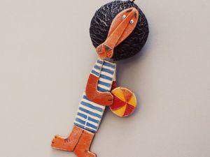 Как сделать Бонифация из картона и шарика от дезодоранта. Ярмарка Мастеров - ручная работа, handmade.