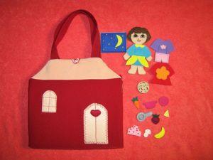 Обзор сумочки-домика для Даши-путешественницы. Ярмарка Мастеров - ручная работа, handmade.