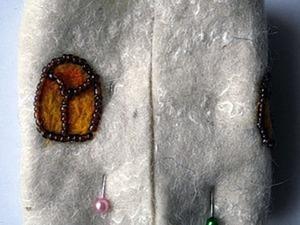 Маскировка шва при сшивании войлочных деталей. Ярмарка Мастеров - ручная работа, handmade.