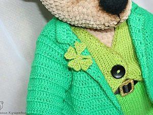 Crochetting a Four Leaf Clover. Livemaster - handmade