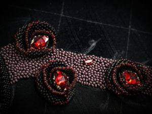 По мотивам Эдгара По. Продолжение браслета. Ярмарка Мастеров - ручная работа, handmade.