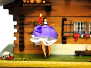 REUGE Музыкальная Шкатулка с Балериной Горное Шале После Дождя Солнце After Rain, Sunshine. Ярмарка Мастеров - ручная работа, handmade.