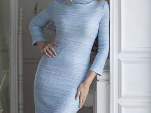 Аукцион на Вязаное платье-футляр! Старт 2500 руб.!. Ярмарка Мастеров - ручная работа, handmade.