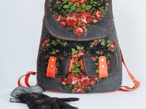 Рюкзак-фаворит среди сумок. Ярмарка Мастеров - ручная работа, handmade.