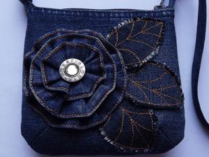 Часть 1. Коллекция джинсовых сумочек. Ярмарка Мастеров - ручная работа, handmade.