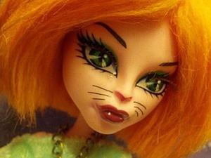 Супер легкий способ сделать паричок для куклы из искуственного меха. Ярмарка Мастеров - ручная работа, handmade.