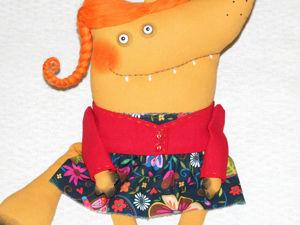 Шьем милую и забавную игрушку «Рыжая Лисичка». Ярмарка Мастеров - ручная работа, handmade.