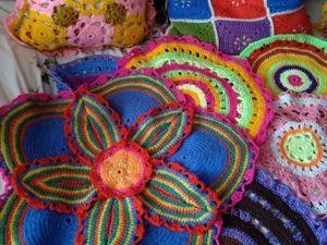Яркие салфетки от бабушки Ани. Ярмарка Мастеров - ручная работа, handmade.