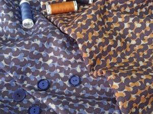 Брендовая плательно-костюмная ткань из шерсти и шелка. Ярмарка Мастеров - ручная работа, handmade.