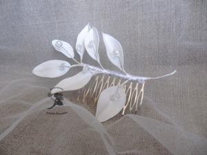 Видеоурок: делаем свадебный гребень своими руками. Ярмарка Мастеров - ручная работа, handmade.