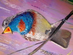 К картине  « Птица». Ярмарка Мастеров - ручная работа, handmade.