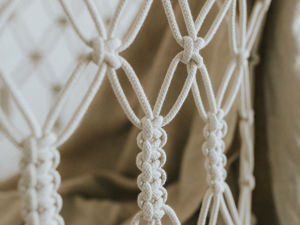 Макраме начинается с узелка. Ярмарка Мастеров - ручная работа, handmade.
