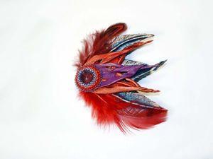 Создаем фантазийную стрелицию из кожи и перьев. Ярмарка Мастеров - ручная работа, handmade.