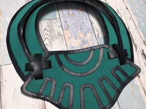 Создание накладки на Keele Zeibel, или как декорировать кожзамом. Ярмарка Мастеров - ручная работа, handmade.