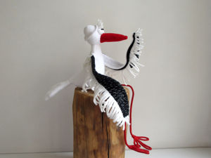 Мягкая игрушка Аист с большими крыльями. Ярмарка Мастеров - ручная работа, handmade.