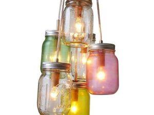 Оформляем стеклянные банки на 8 марта: быстро, дешево, но не сердито. Ярмарка Мастеров - ручная работа, handmade.