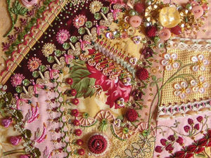 The Combination of Crazy Quilt and Embroidery in Stunning Masterpieces. Livemaster - hecho a mano - handmade.