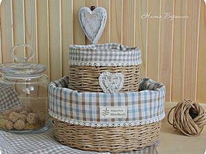 Weaving a Provence Basket. Livemaster - handmade