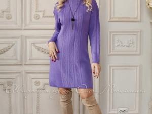 Аукцион на вязаное мини-платье! Старт 2500 руб.!. Ярмарка Мастеров - ручная работа, handmade.