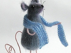 Как связать милую мышку. Ярмарка Мастеров - ручная работа, handmade.
