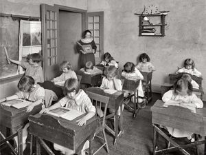 Photos of American Schools in the Early 20th Century. Livemaster - handmade