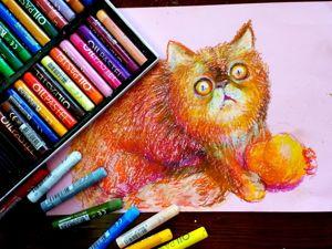 ТерраКОТовый урок рисования. Часть 2. Ярмарка Мастеров - ручная работа, handmade.