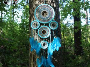Ловец снов  «Апатит» , 78 см. Ярмарка Мастеров - ручная работа, handmade.