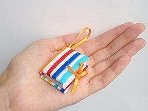 Мастер-класс: Брелок-блокнот. Ярмарка Мастеров - ручная работа, handmade.
