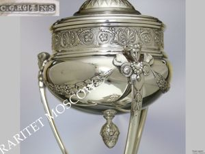 РАРИТЕТИЩЕ Ваза сахарница ангел лев серебрение 7. Ярмарка Мастеров - ручная работа, handmade.