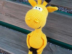 Новинка! Солнечный жираф). Ярмарка Мастеров - ручная работа, handmade.