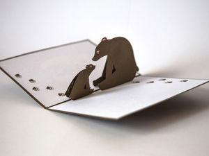 Идеи необычных открыток на любой праздник. Ярмарка Мастеров - ручная работа, handmade.
