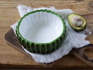 Делаем из глины оригинальный салатник в форме кактуса. Ярмарка Мастеров - ручная работа, handmade.
