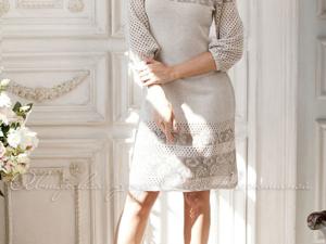 Аукцион на летнее вязаное платье! Старт 2500 руб.!. Ярмарка Мастеров - ручная работа, handmade.