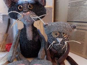 Коты маргиналы)). Ярмарка Мастеров - ручная работа, handmade.