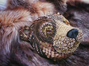 Обзор способов объемной вышивки в современном бисерном искусстве. Ярмарка Мастеров - ручная работа, handmade.