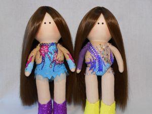 Мои чемпионки. Куклы гимнастки. Ярмарка Мастеров - ручная работа, handmade.