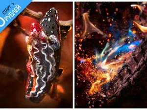 Аукцион с НУЛЯ на волшебную саламандру!. Ярмарка Мастеров - ручная работа, handmade.